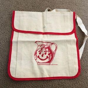 Vintage Kool aid linen backpack